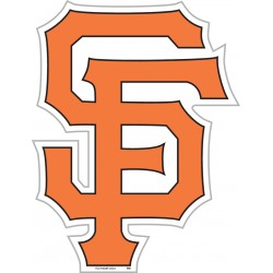 "San Francisco Giants 12"" Vinyl Magnet"