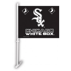 Chicago White Sox Two Sided Car Flag