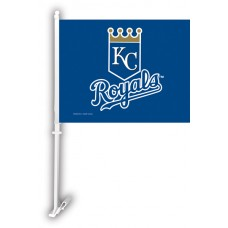 Kansas City Royals Two Sided Car Flag