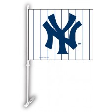 New York Yankees Two Sided Car Flag