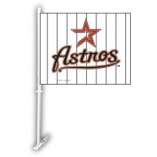 Houston Astros Two Sided Car Flag