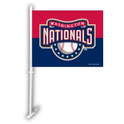 Washington Nationals Two Sided Car Flag