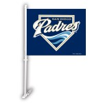 San Diego Padres Two Sided Car Flag