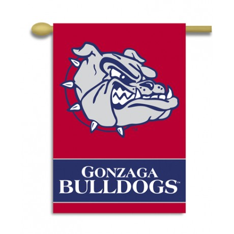 Gonzaga NCAA Double Sided Banner