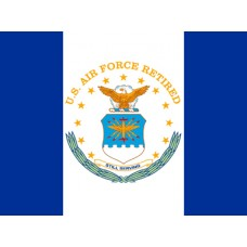 United States Air Force Retired 3'x 4' Flag
