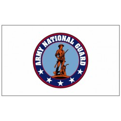 Army National Guard 3' x 5' Nylon Flag