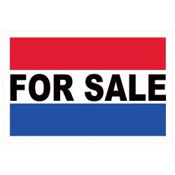 For Sale 2' x 3' Vinyl Business Banner