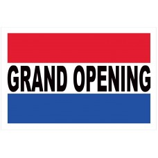 Grand Opening 2' x 3' Vinyl Business Banner