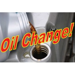 Oil Change 2' x 3' Vinyl Business Banner