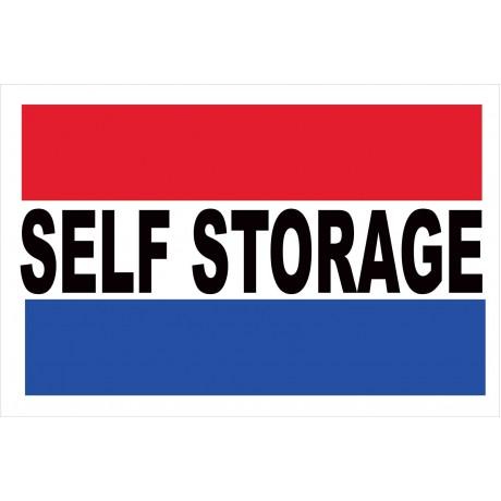 Self Storage 2' x 3' Vinyl Business Banner