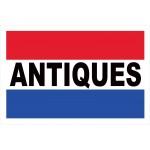 Antiques 2' x 3' Vinyl Business Banner