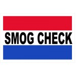 Smog Check 2' x 3' Vinyl Business Banner