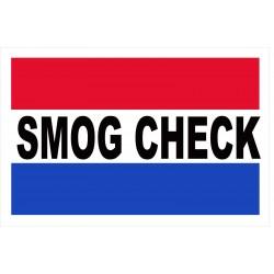 Smog Check 2' x 3' Vinyl Business Banner
