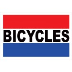 Bicycles 2' x 3' Vinyl Business Banner