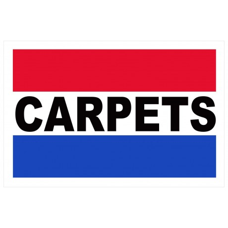 Carpets 2' x 3' Vinyl Business Banner