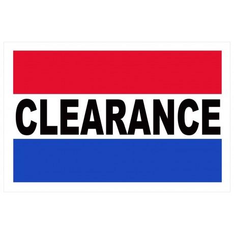 Clearance 2' x 3' Vinyl Business Banner