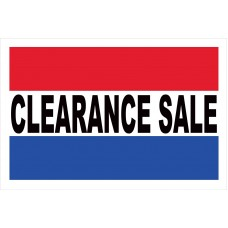 Clearance Sale 2' x 3' Vinyl Business Banner