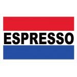 Espresso 2' x 3' Vinyl Business Banner