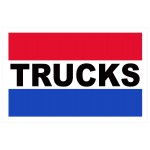 Trucks 2' x 3' Vinyl Business Banner