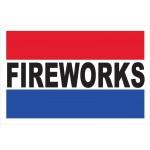 Fireworks 2' x 3' Vinyl Business Banner