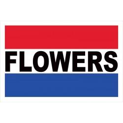 Flowers 2' x 3' Vinyl Business Banner