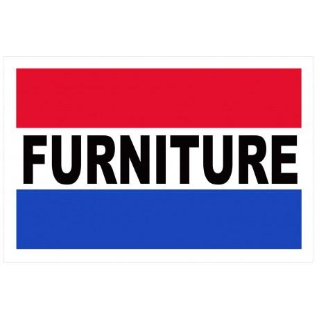Furniture 2' x 3' Vinyl Business Banner