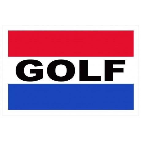 Golf 2' x 3' Vinyl Business Banner