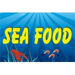 Seafood Simple 2' x 3' Vinyl Business Banner