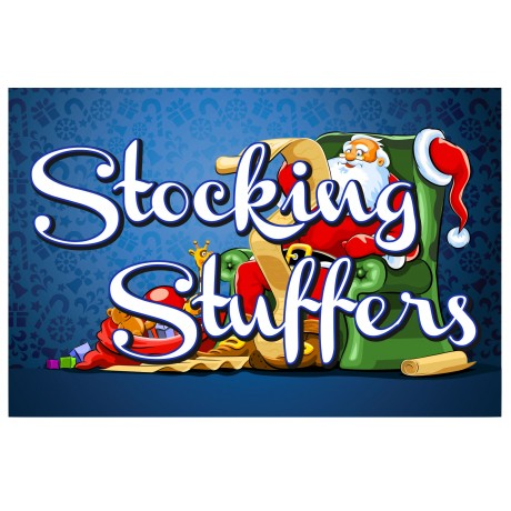Stocking Stuffers 2' x 3' Vinyl Business Banner