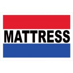 Mattress 2' x 3' Vinyl Business Banner