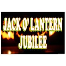 Jack O' Lantern Jubilee 2' x 3' Vinyl Business Banner