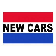 New Cars 2' x 3' Vinyl Business Banner