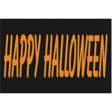 Happy Halloween 2' x 3' Vinyl Business Banner