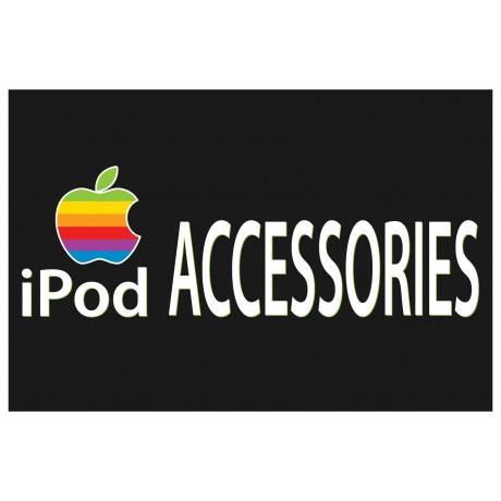 iPod Accessories 2' x 3' Vinyl Business Banner