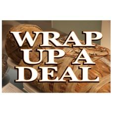 Halloween Wrap Up A Deal 2' x 3' Vinyl Business Banner
