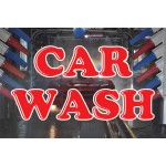 Car Wash Graphic 2' x 3' Vinyl Business Banner