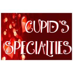 Valentine Cupid's Specialties 2' x 3' Vinyl Business Banner