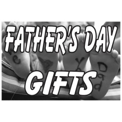 Father's Day Gifts 2' x 3' Vinyl Business Banner