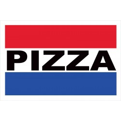 Pizza 2' x 3' Vinyl Business Banner