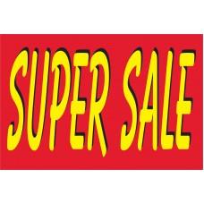 Super Sale Bright 2' x 3' Vinyl Business Banner