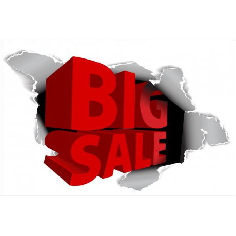 Big Sale 2' x 3' Vinyl Business Banner