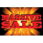 Massive Sale 2' x 3' Vinyl Business Banner