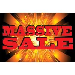 Massive Sale 2' x 3' Vinyl Business Banner
