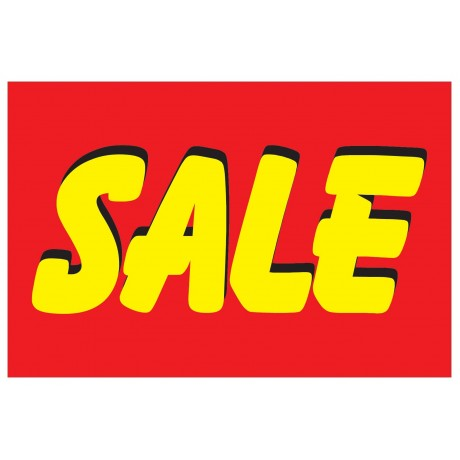 Sale Bright 2' x 3' Vinyl Business Banner
