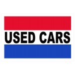 Used Cars 2' x 3' Vinyl Business Banner