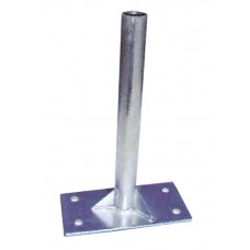 Steel Bolt On Roof Mount Flag Pole Holder Base