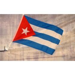 "Cuba 12"" x 15"" Car Window Flag"
