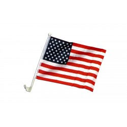 "USA 12"" x 15"" Car Window Flag"