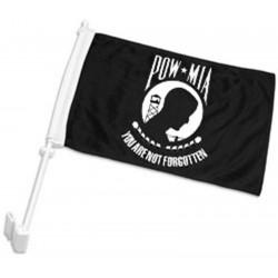 """POW MIA 12"""" x 15"""" Car Window Flag"""