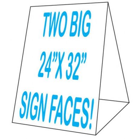 24 x 32 Corex Roadside Tent Sign